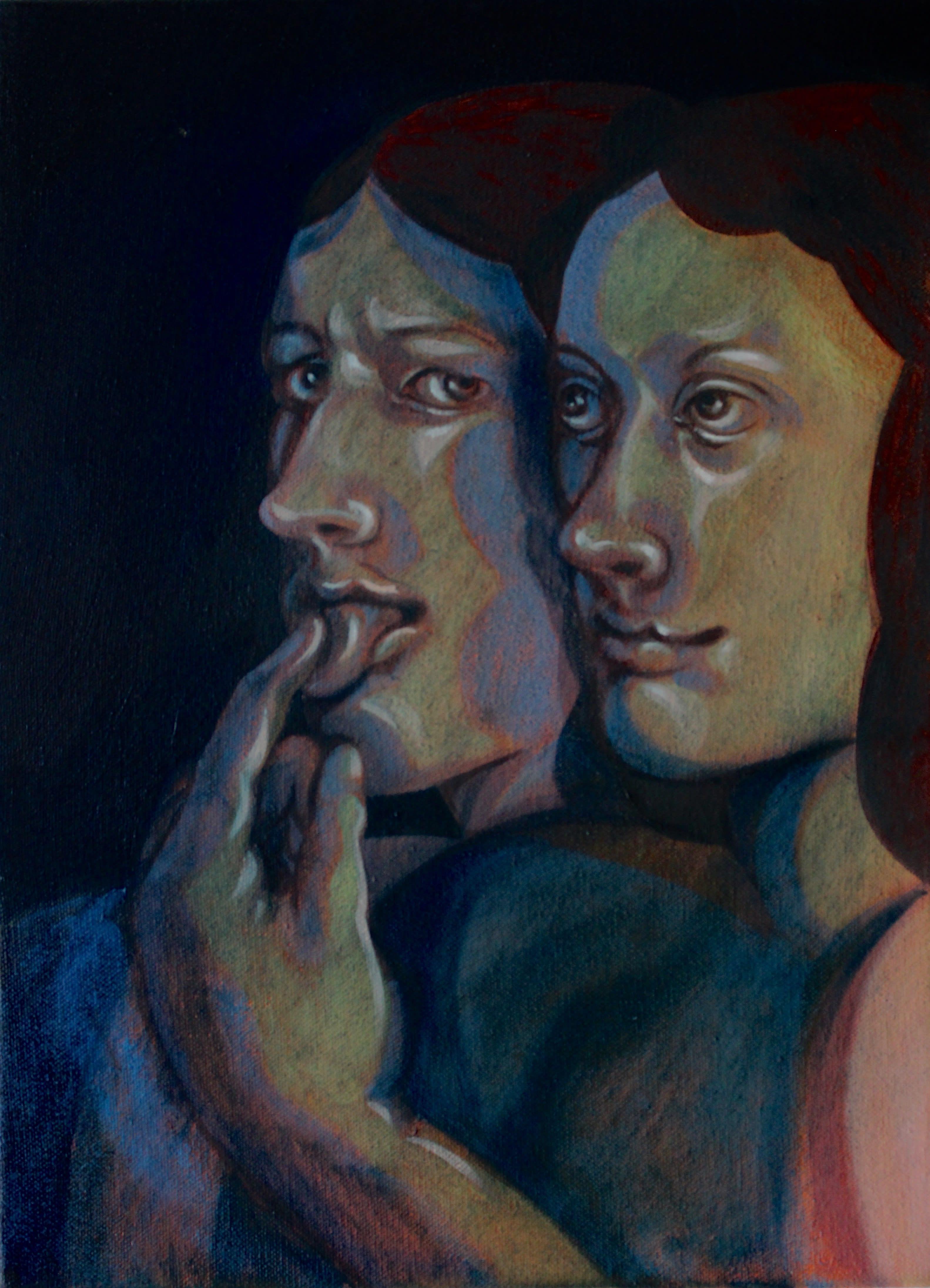 Nettle Grellier painting emerging artist