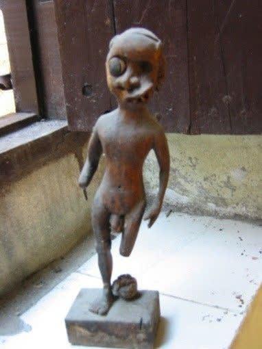 Osain, a sculpture