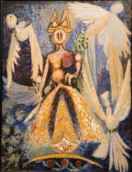 Carida, a painting by Diago Querol