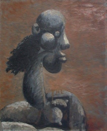 Mujer, 1945, Diago Querol Painting