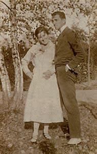 Hilla Rebay and Rudolf Bauer, c. 1916–25
