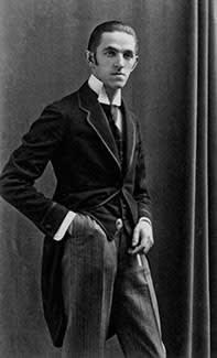 Rudolf Bauer as a young man