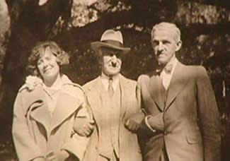 Hilla Rebay, Solomon R. Guggenheim, and Rudolf Bauer in Germany, 1930
