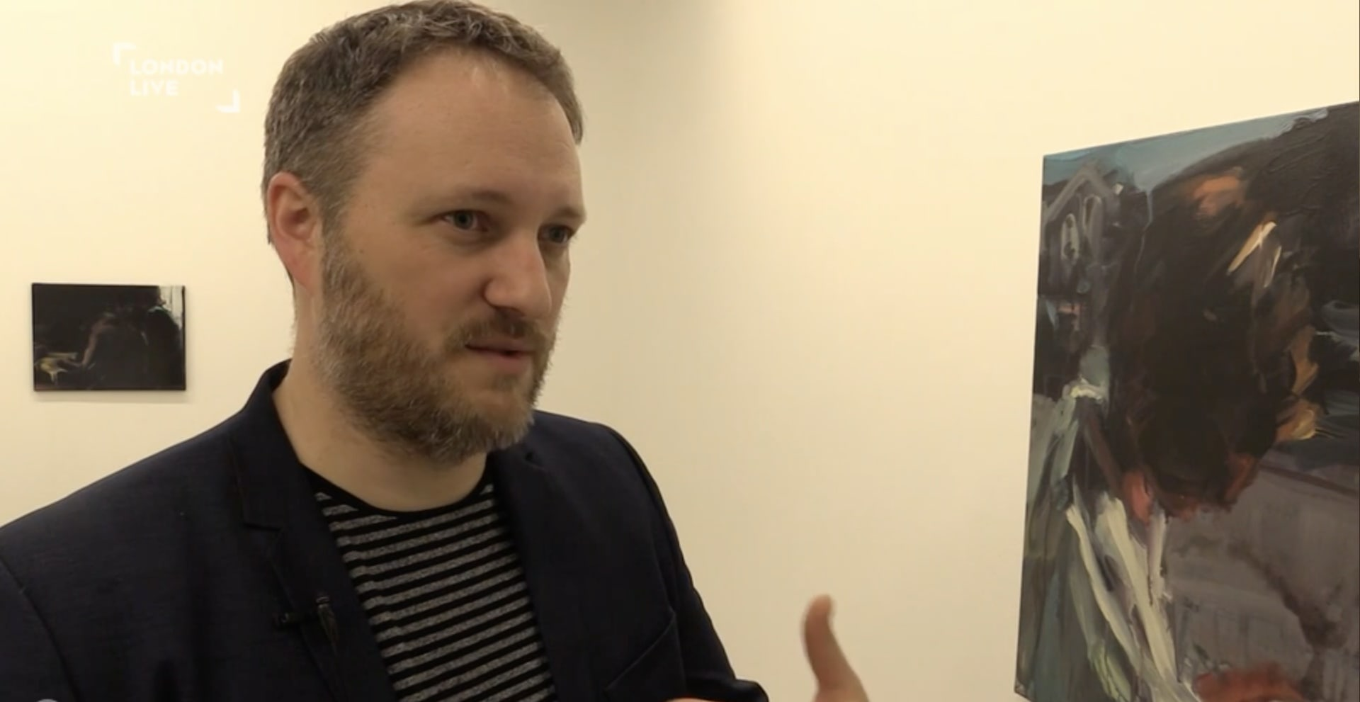 Miles Thurlow discusses Laura Lancaster's exhibition on London Live