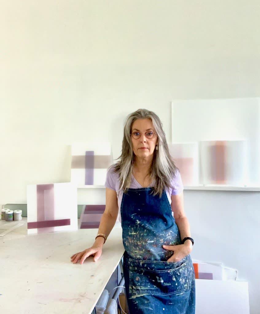 Debra Ramsay studio NYC Yi Gallery