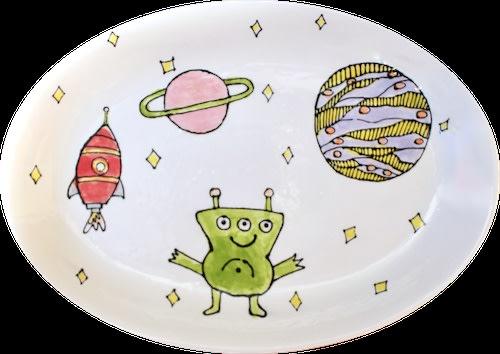 ARTsmart Student Artwork- Ceramic Plate