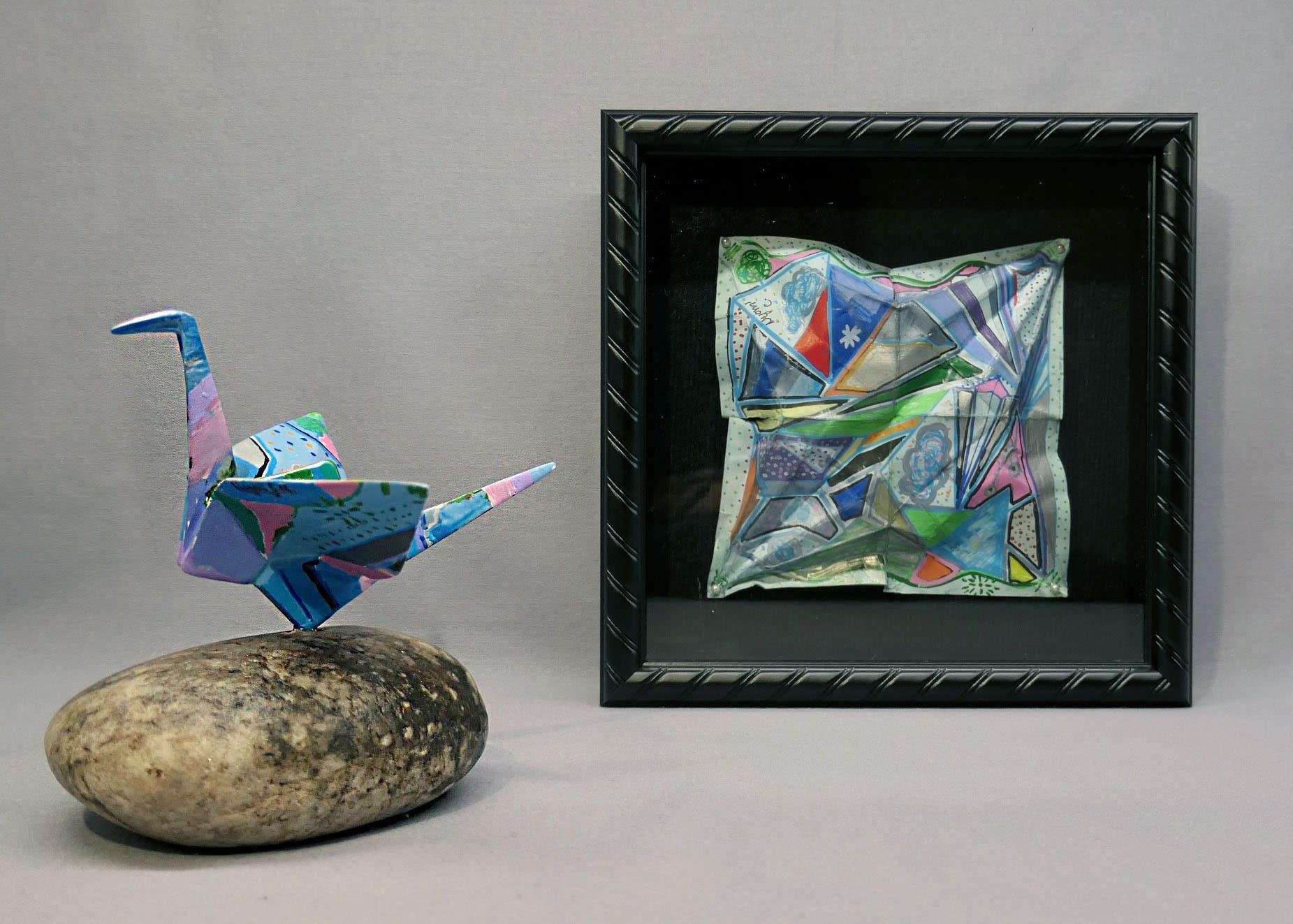 ARTsmart Student Artwork- Crane