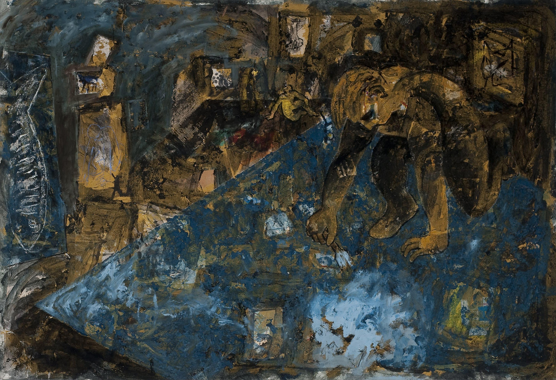 Miquel Barceló, Pintor damunt el quadre, 1983