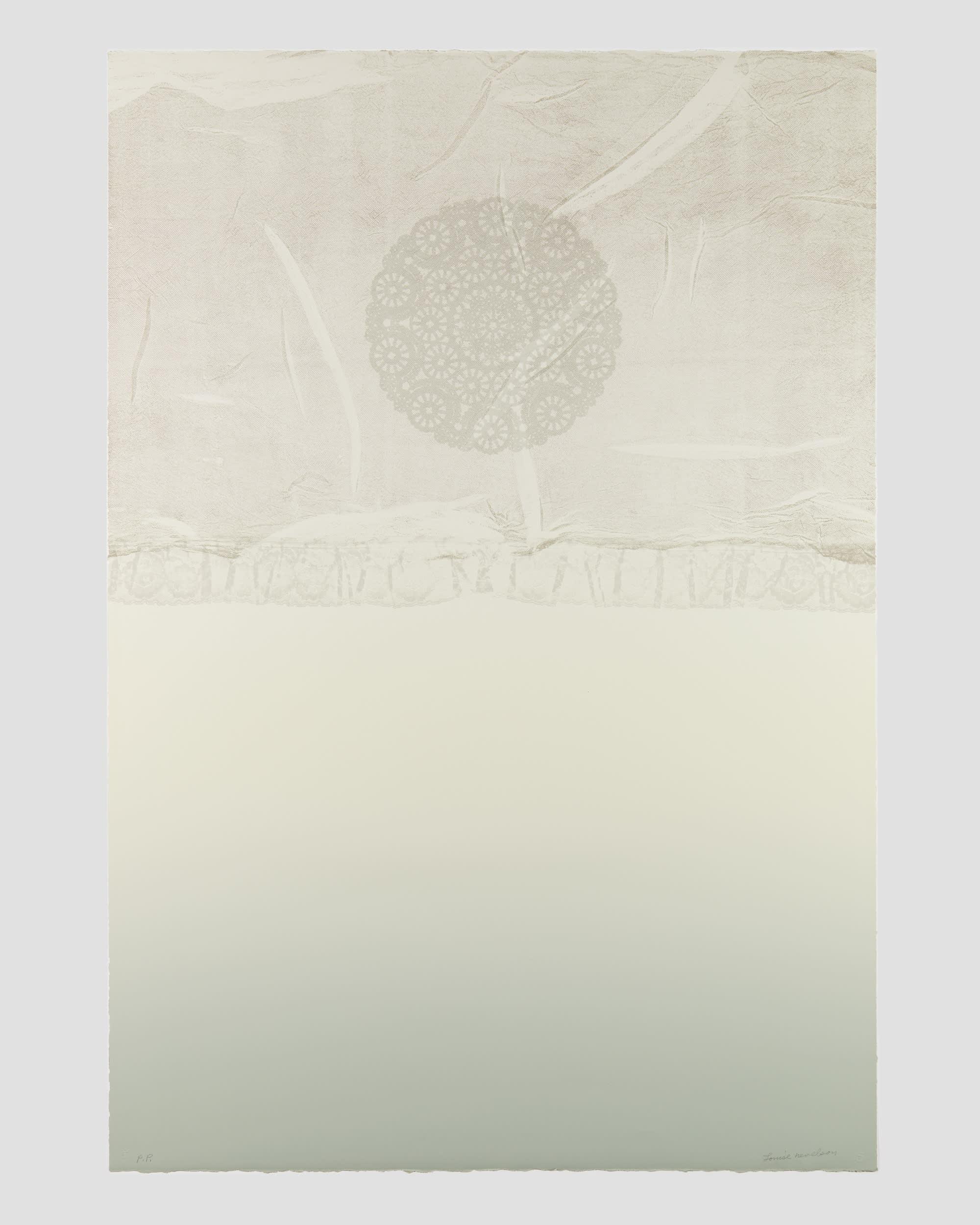 Louise Nevelson Print- Zane Bennett Gallery