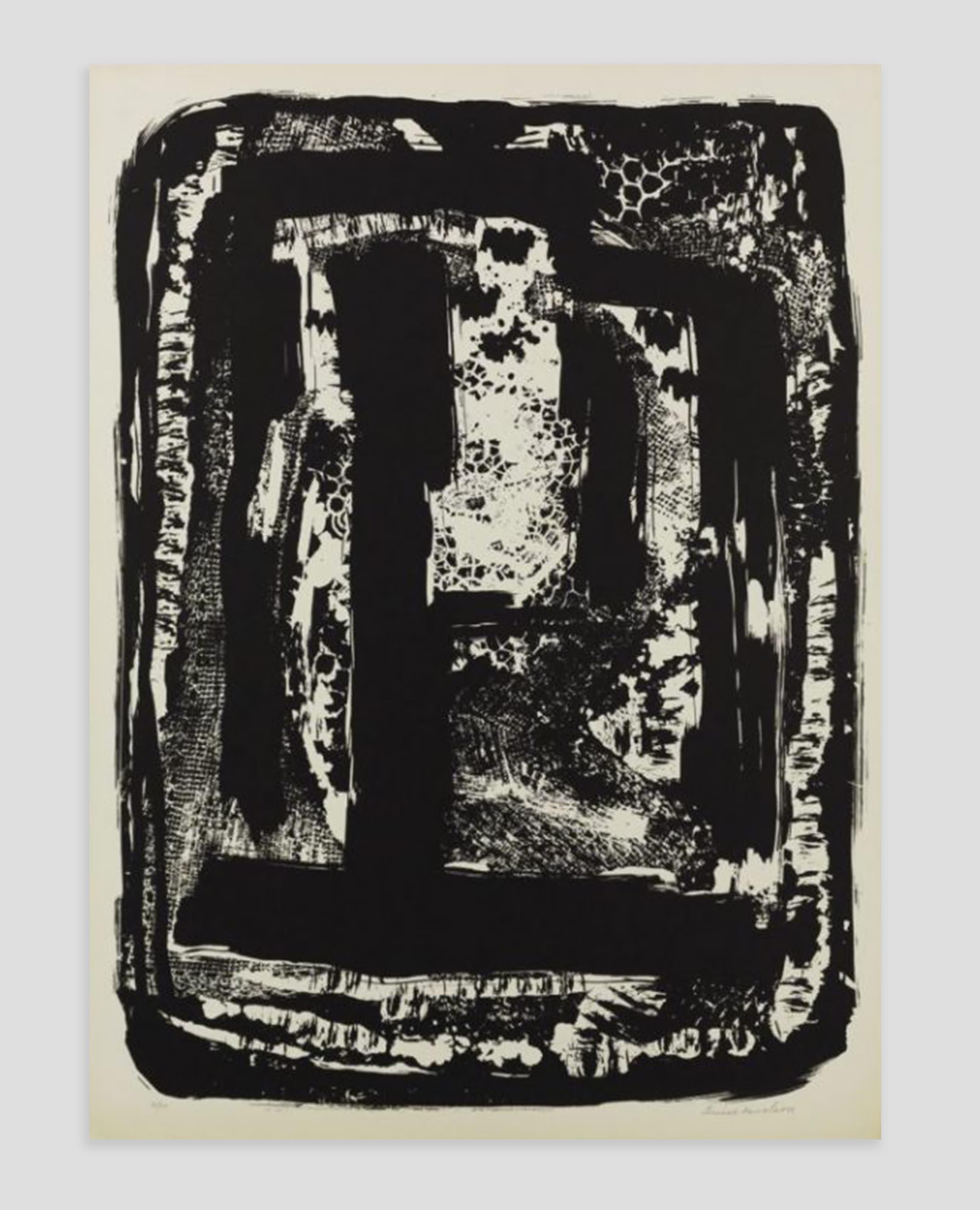 Fine Art Print by Louise Nevelson at Zane Bennett Contemporary Art