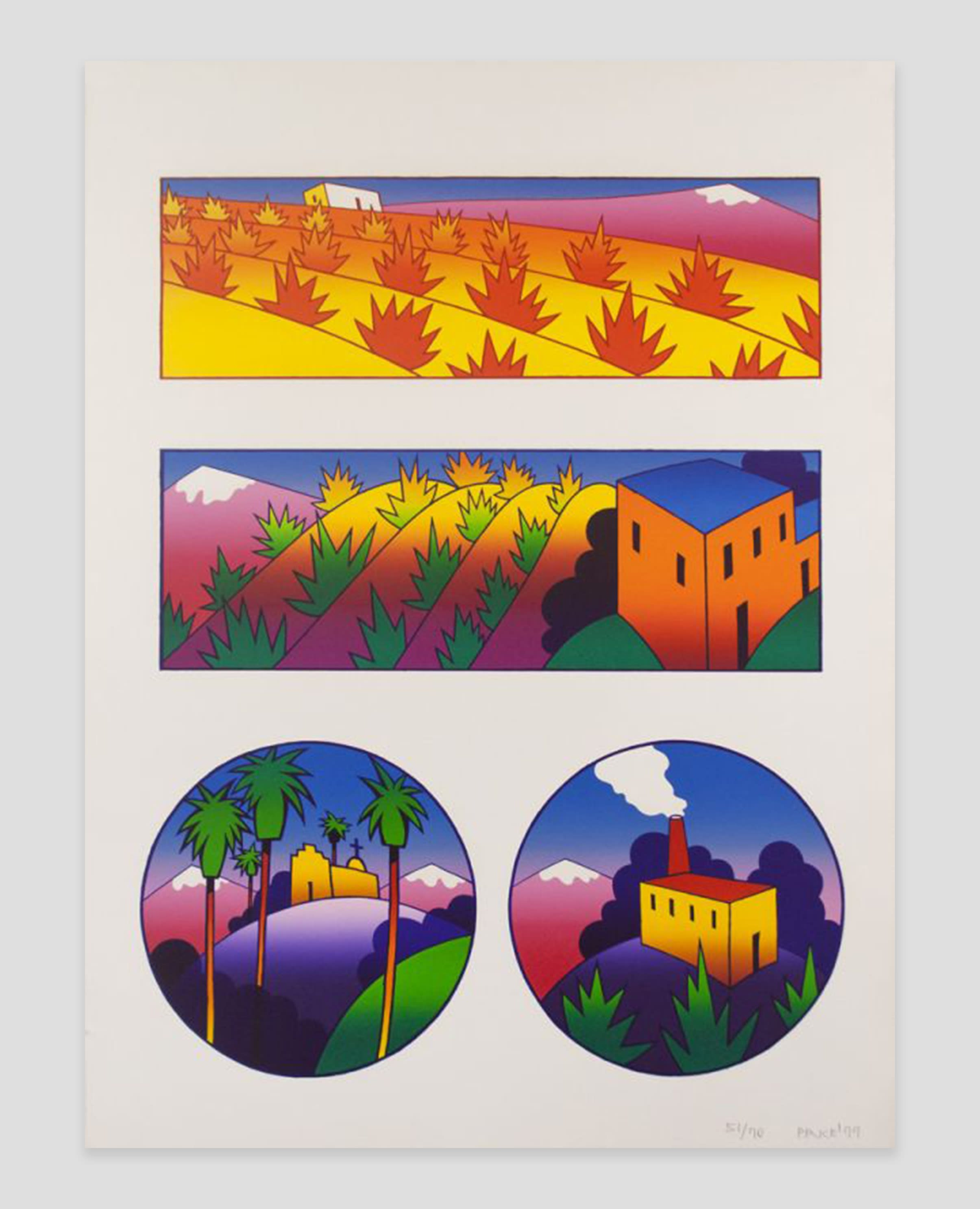Fine Art Print by Ken Price at Zane Bennett Contemporary Art