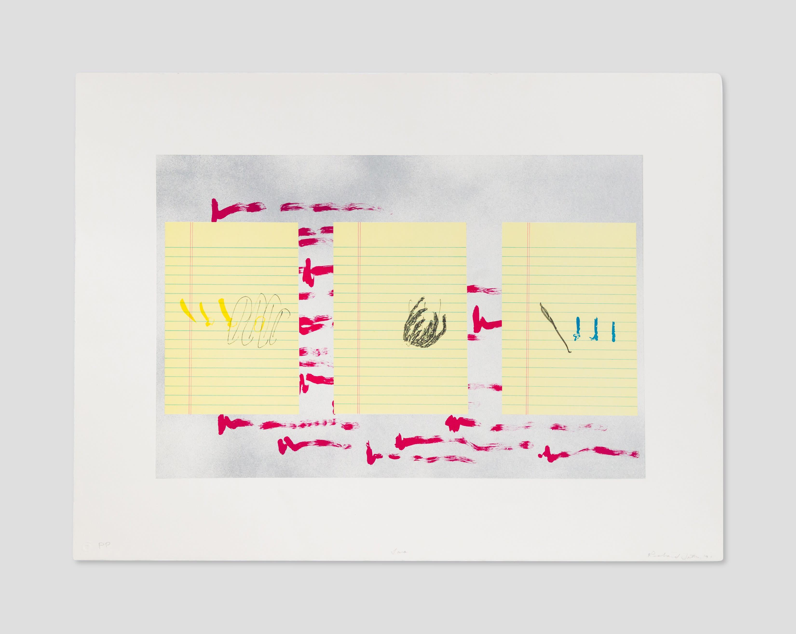 Artwork by Richard Tuttle at Zane Bennett Contemporary Art