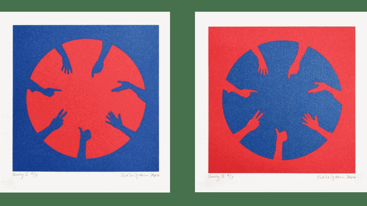 Nicola Green, Unity I&II, 2020