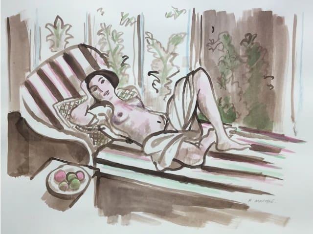 John Myatt - Matisse Drawing IV