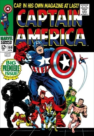 Stan Lee - Captain America