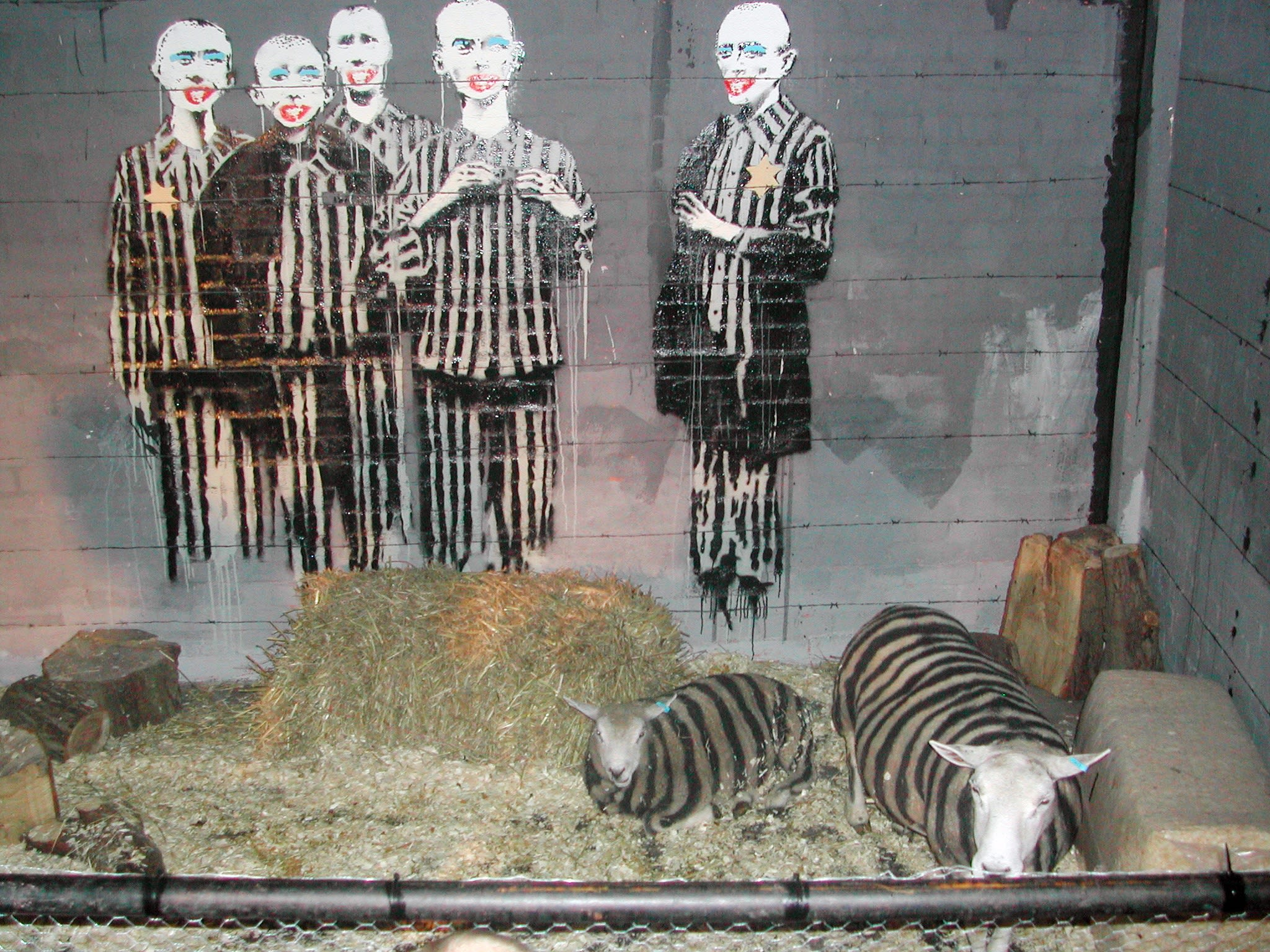 Turf War by Banksy