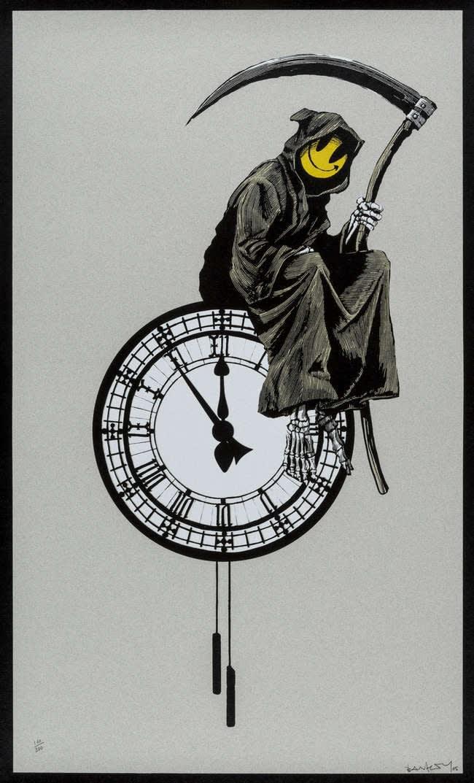 Banksy, Grin Reaper