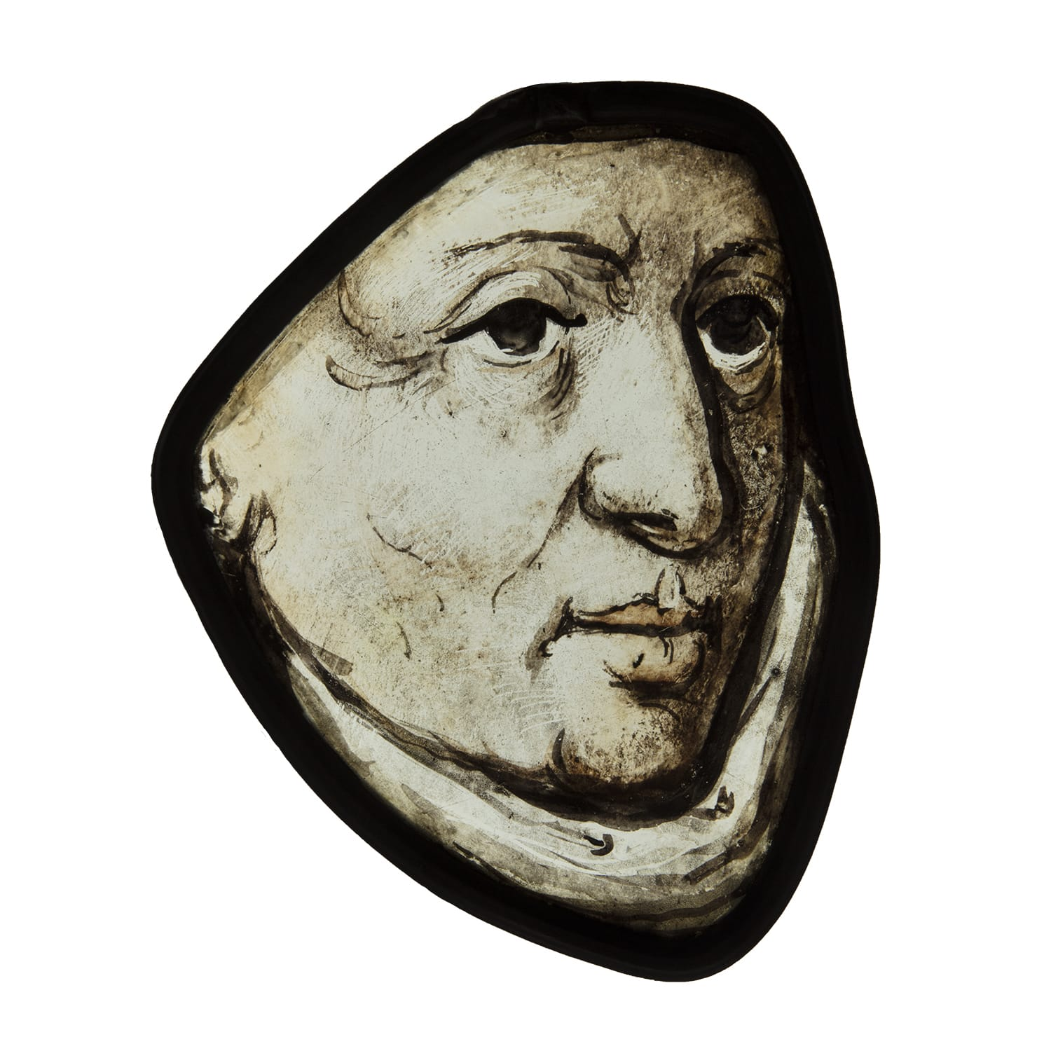 "<span class=""title""><em>The head of a bishop or bishop saint</em>, c. 1510 - 20</span>"