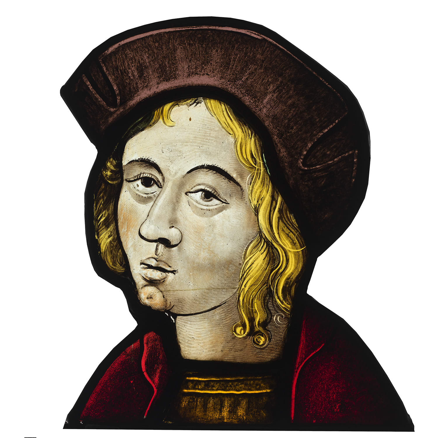 "<span class=""title""><em>A Head of a Young Man</em>, c. 1530</span>"