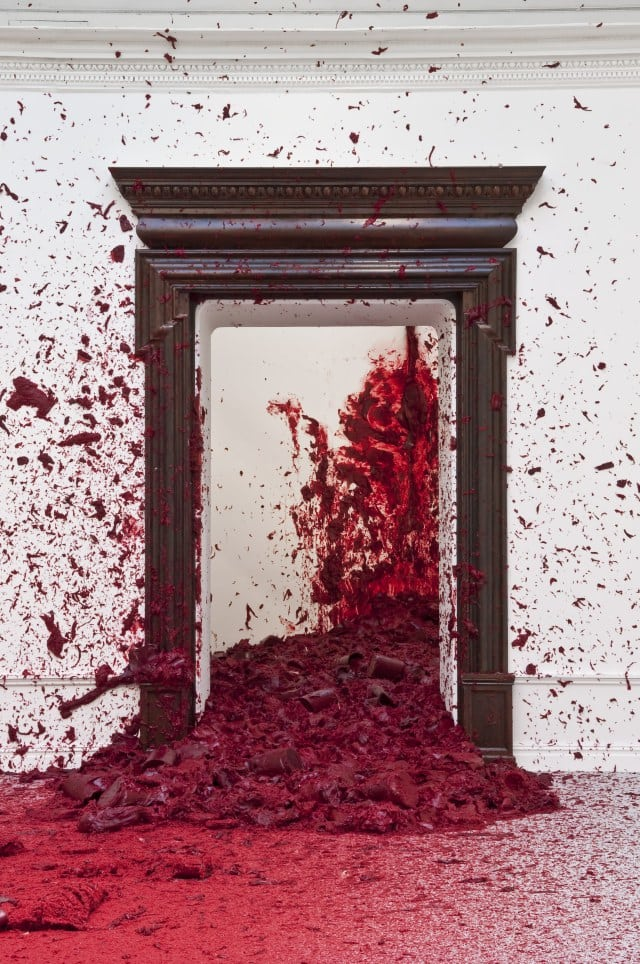 shooting into the corner, anish kapoor