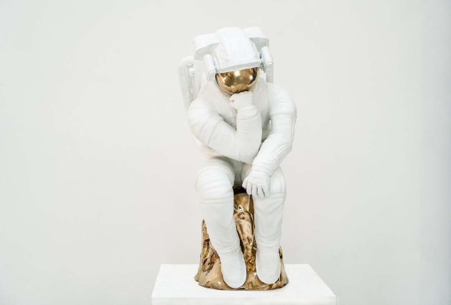 Joseph Klibansky The Thinker Bronze