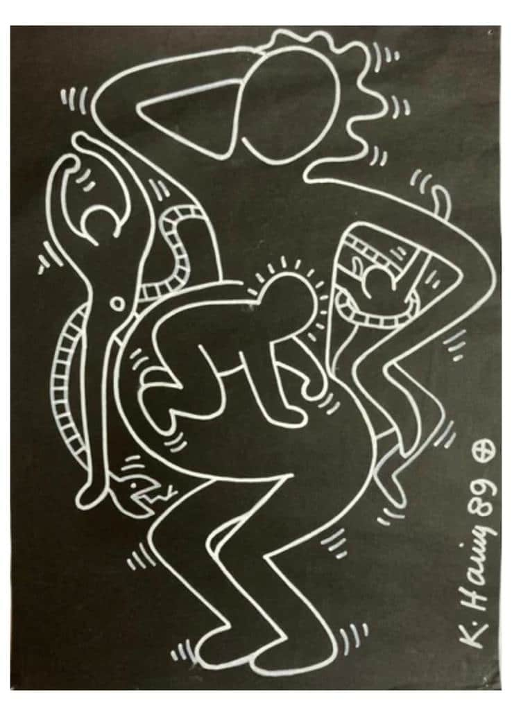 Keith Haring, Untitled, 1989