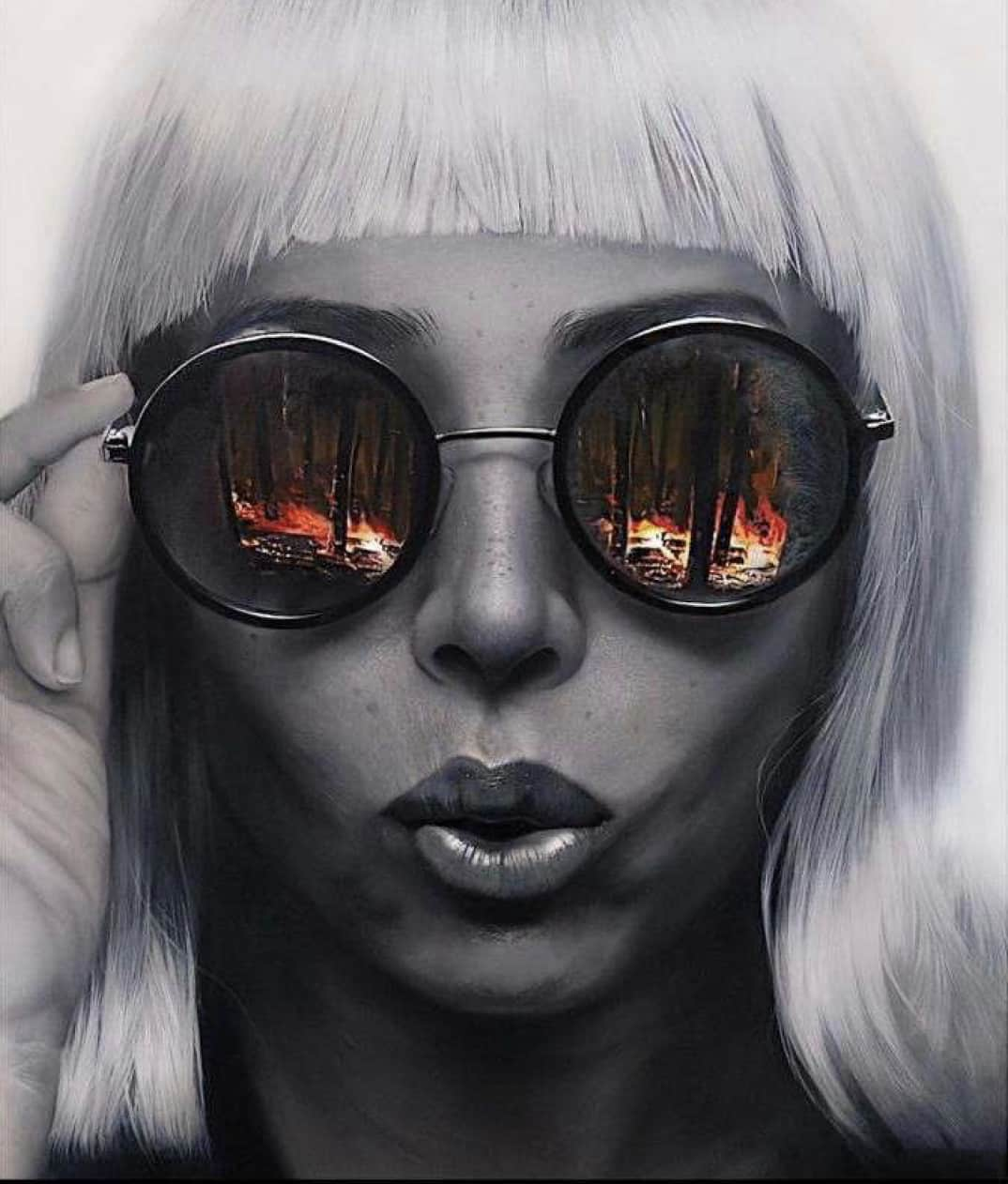 Mike Dargas, On Fire, 2019
