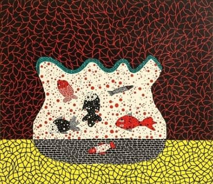 Yayoi Kusama, Goldfish Bowl, 1984