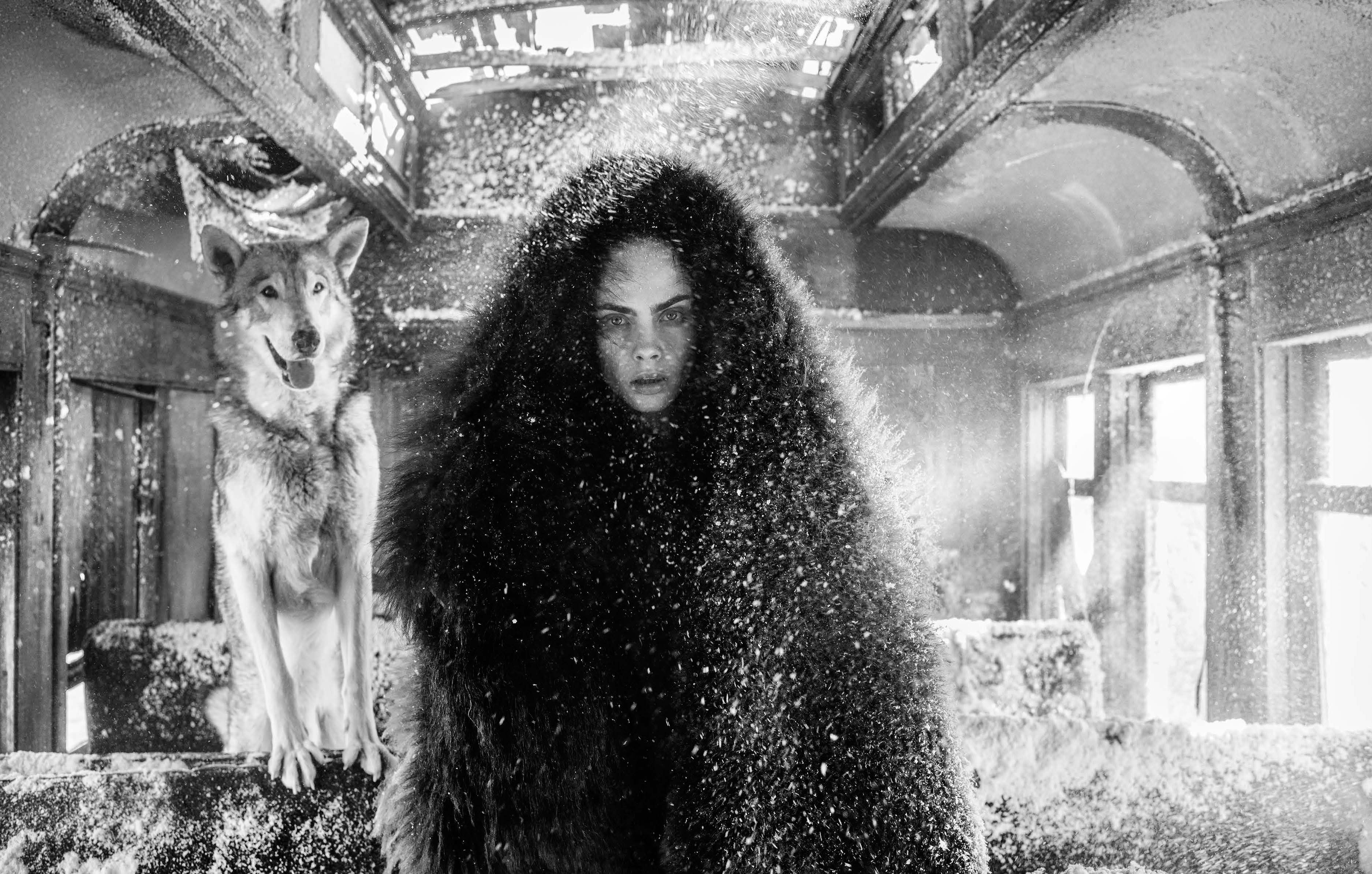 David Yarrow The Girl Who Cried Wolf Archival Pigment Print