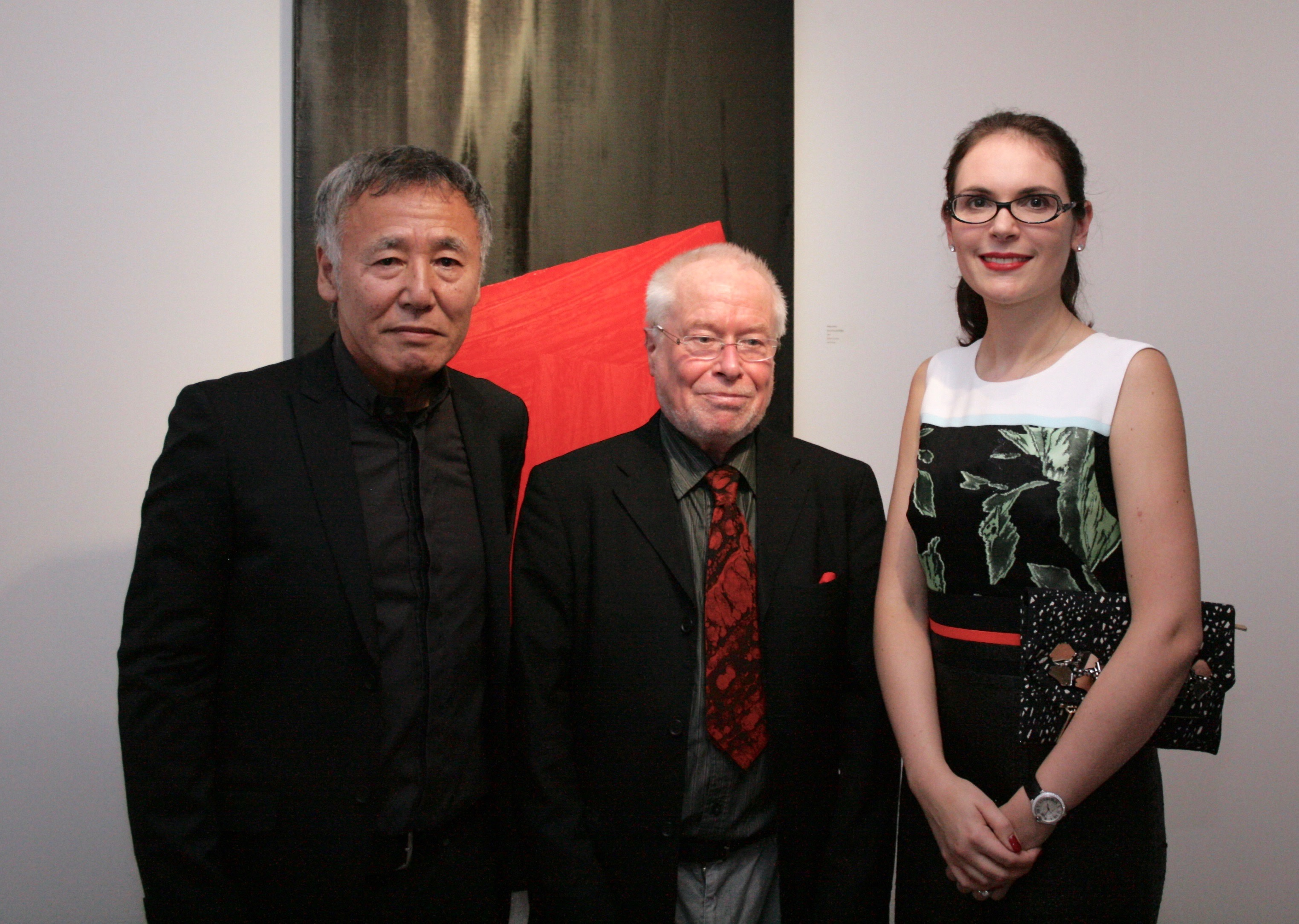 Elena Shchukina with Rikizo Fukao and Lawrence Smith