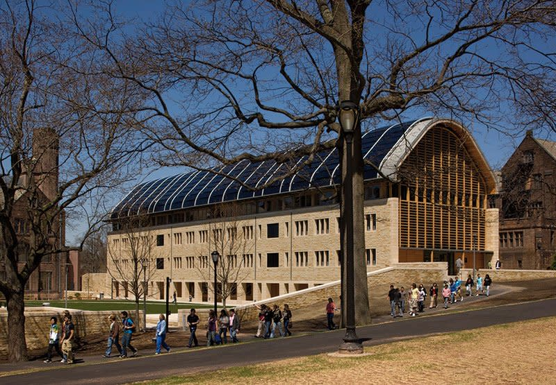 Yale University: Kroon Hall, School of Forestry and