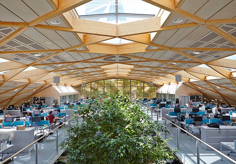 Wwf Uk S Living Planet Centre Hopkins Architects
