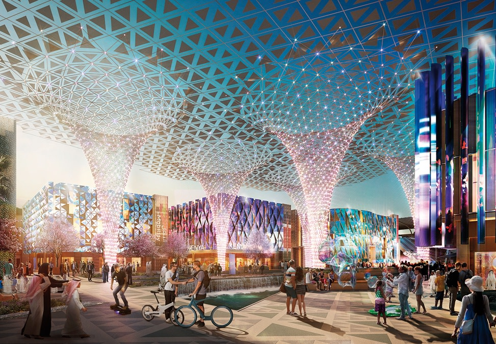 Expo 2020 Theme Districts | Hopkins Architects