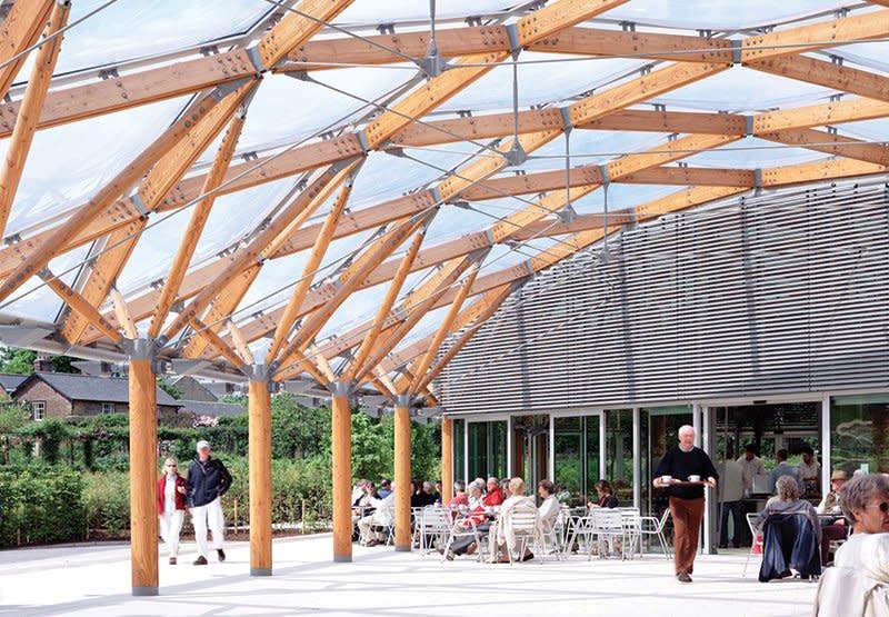 Alnwick Garden Pavilion Hopkins Architects