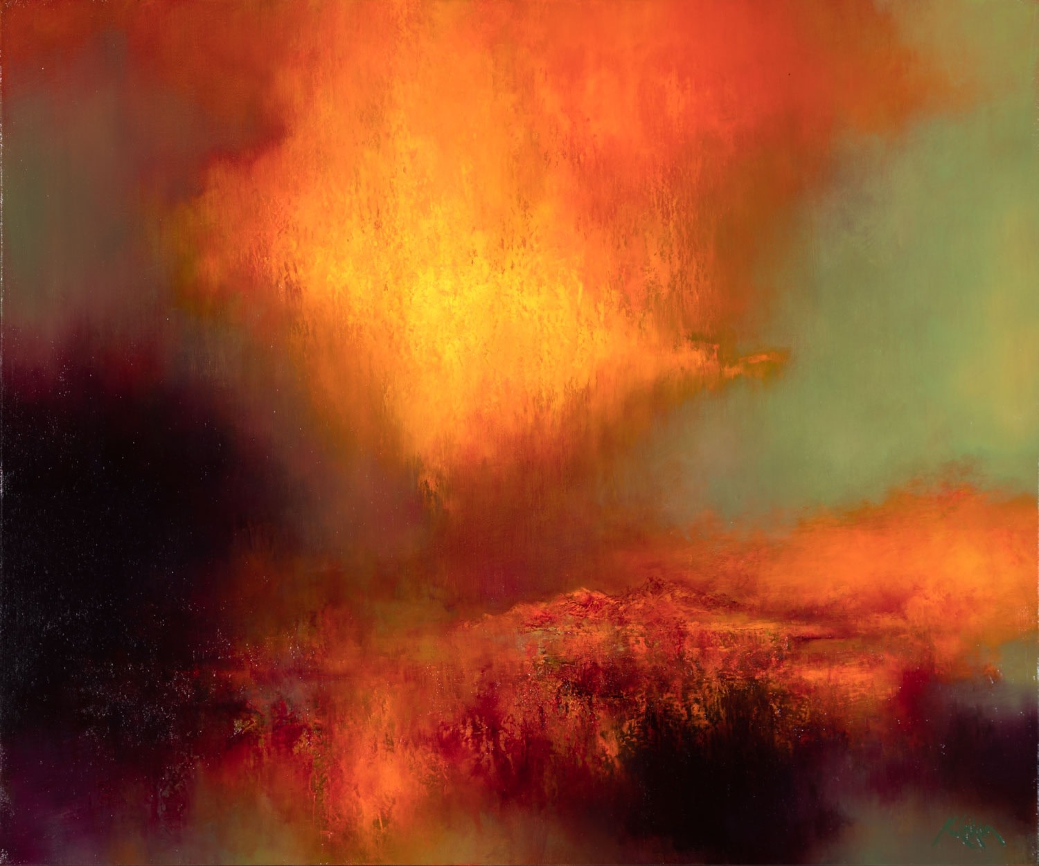 Kirstie Cohen Orange Sky