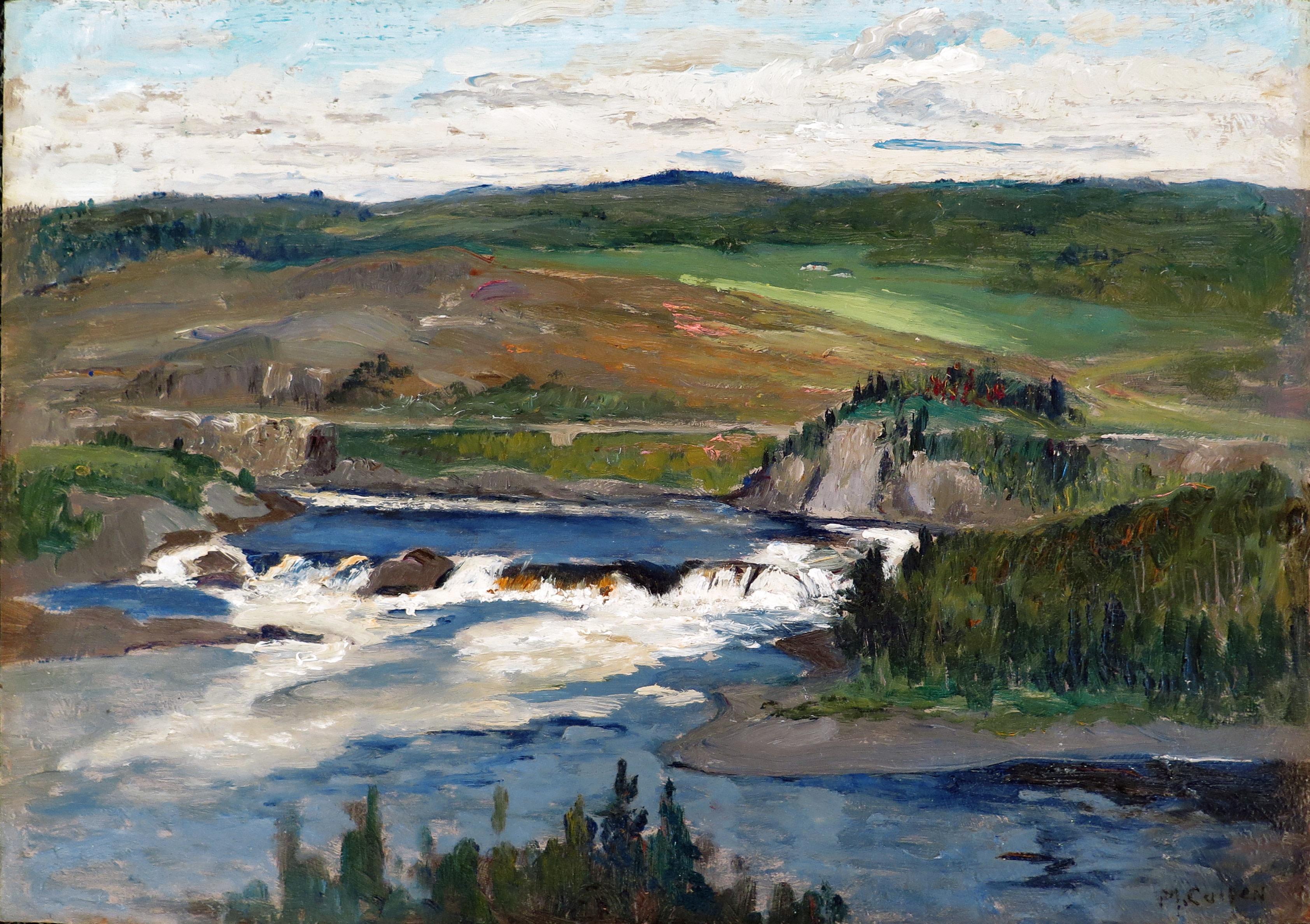 Chicoutimi Falls, c. 1920