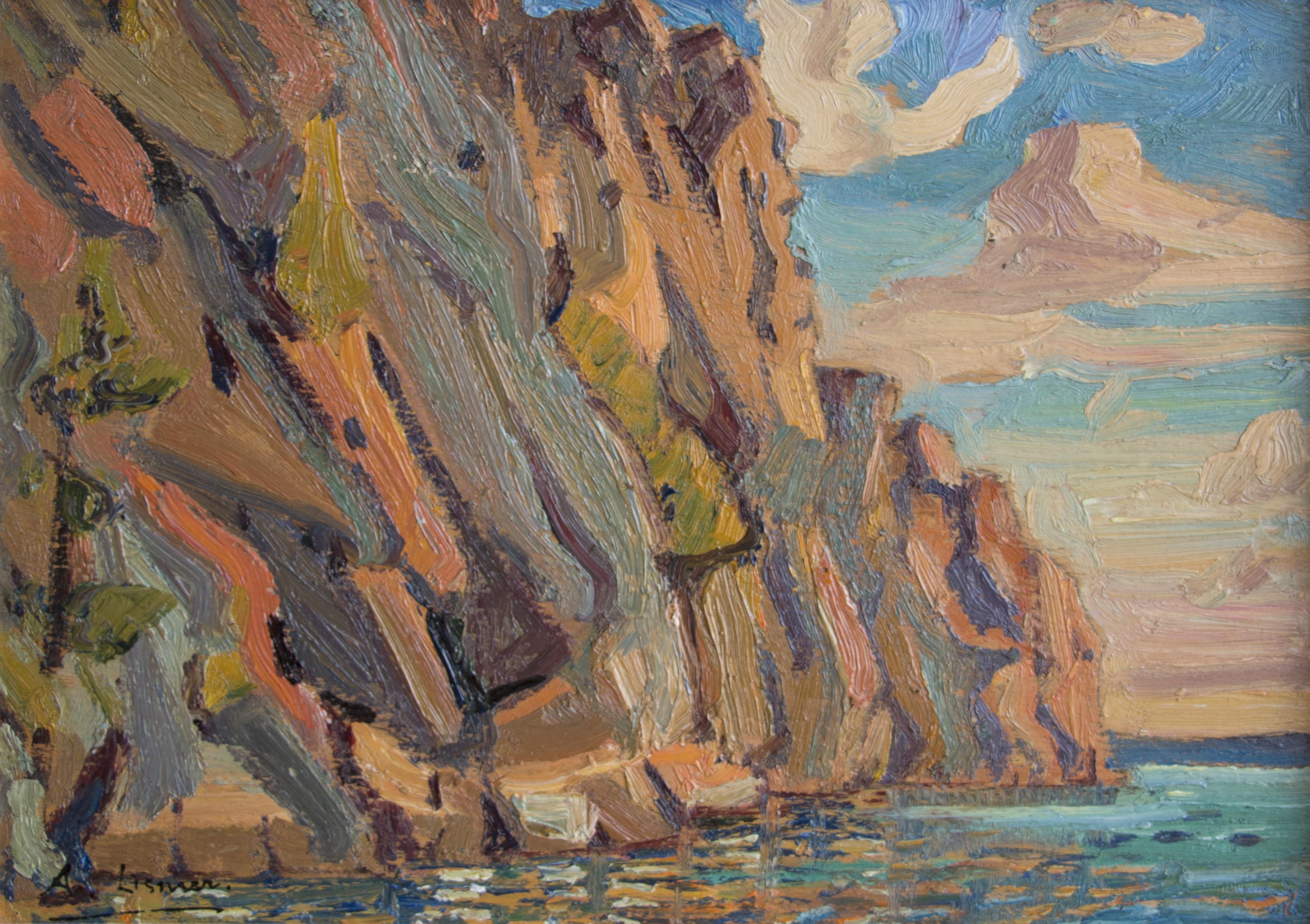 Arthur Lismer, Bon Echo, c. 1921-22