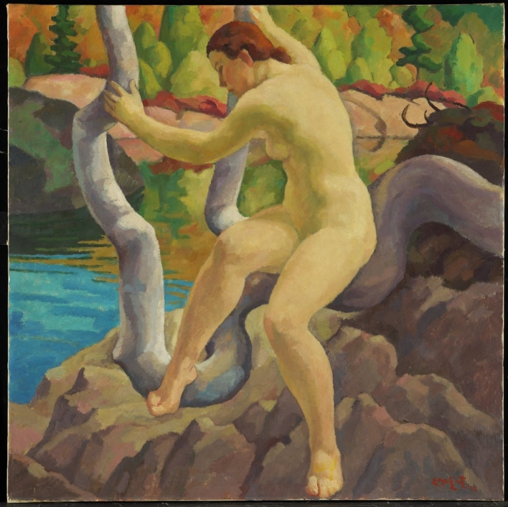 Edwin Holgate, Early Autumn, 1938, Oil on canvas, 72.5 x 72.5 cm, National Gallery of Canada, Accession No. 4355