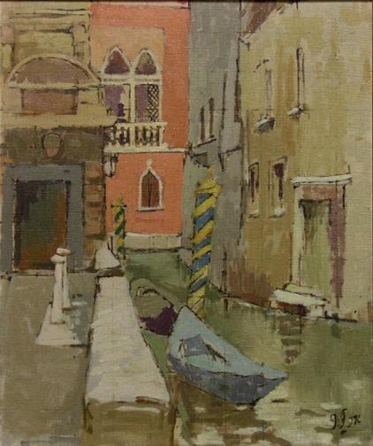 John Fox, Venice, 1956