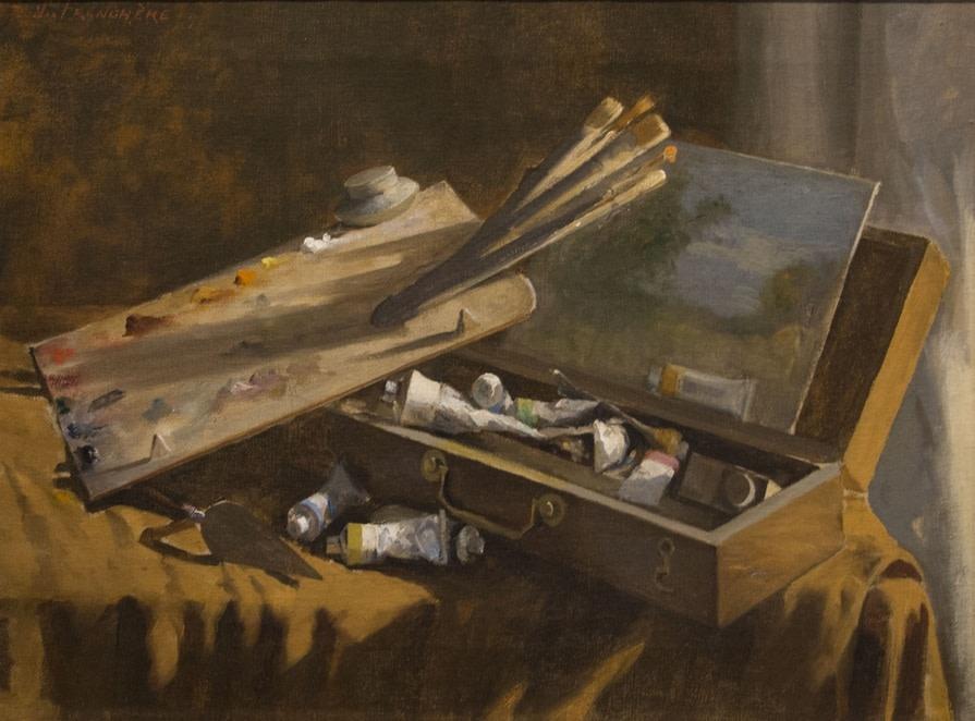 Les outils du peintre de plein air, 1894  Huile sur toile 18