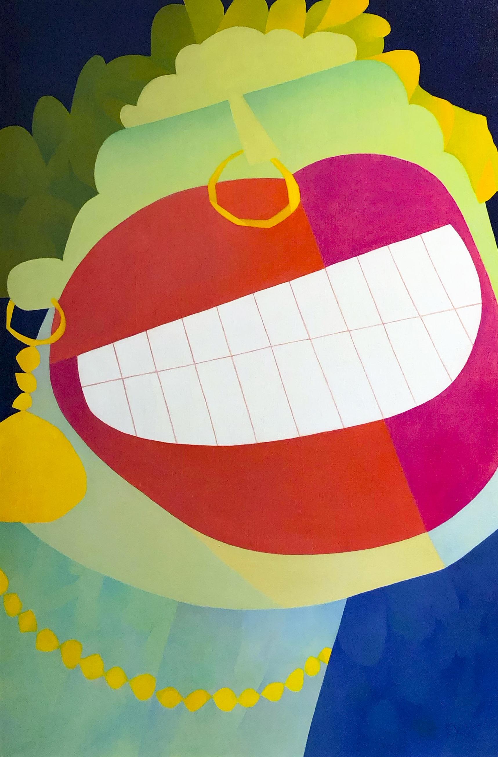 Claude Le Sauteur, Le ridicule, 2003. Huile sur toile, 36 x 24 in 91.4 x 61 cm
