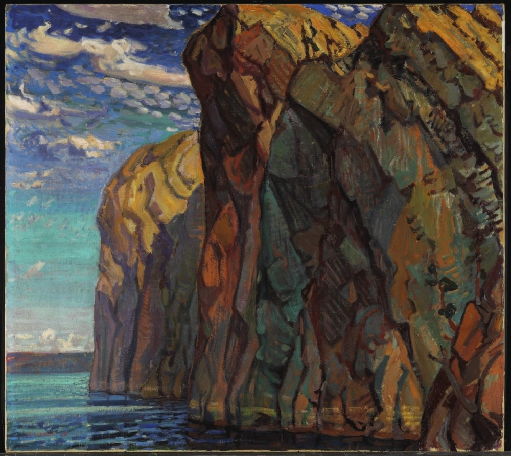 Arthur Lismer, The Big Rock, Bon Echo, 1922, National Gallery of Canada, Access. No. 2004
