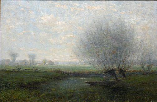 Canadian Landscape , 1919 by Percy Woodcock