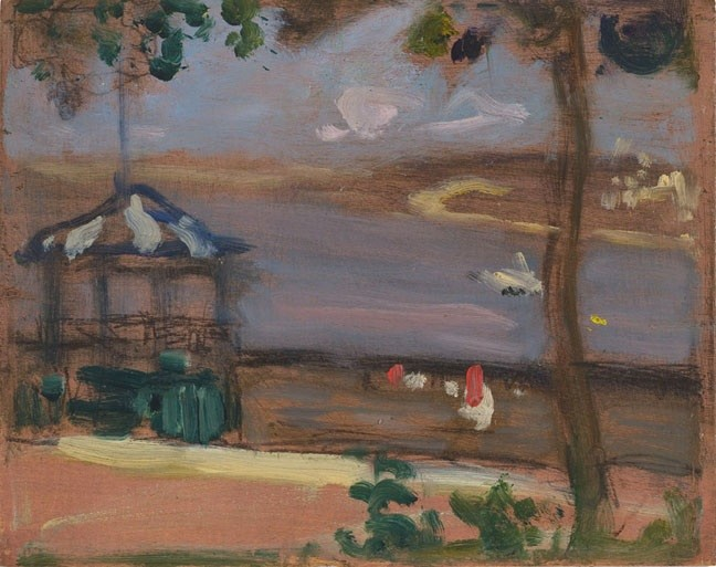 JW Morrice, Dufferin Terrace, Quebec