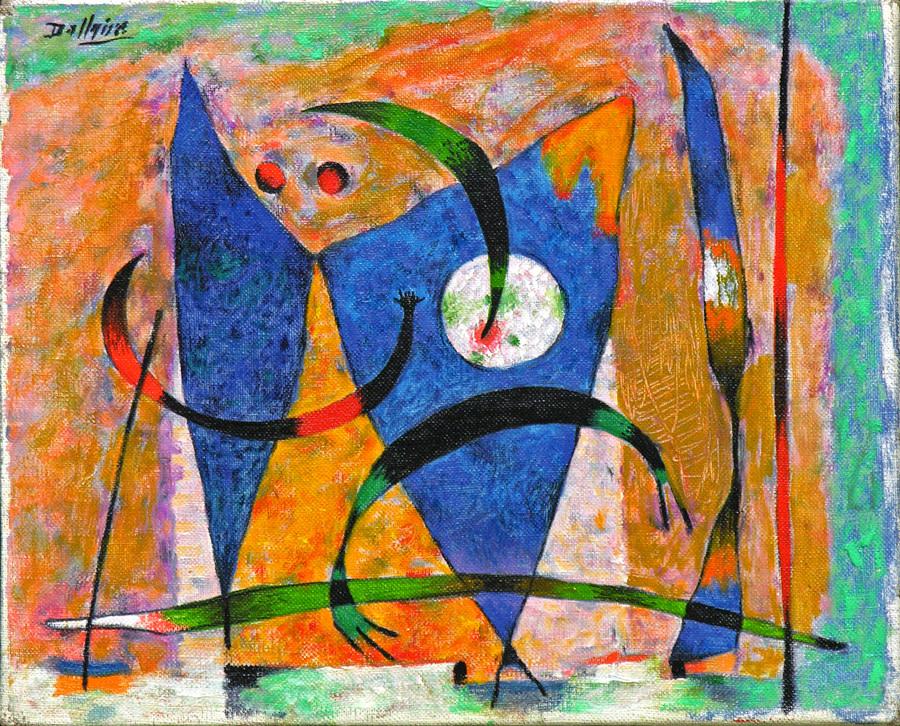 Jean Philippe Dallaire (1916-1965) | Papillon, 1958