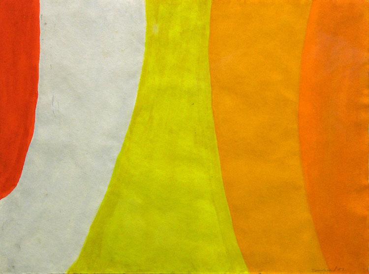 CLAUDE TOUSIGNANT  |  Verticale courbe, 1957