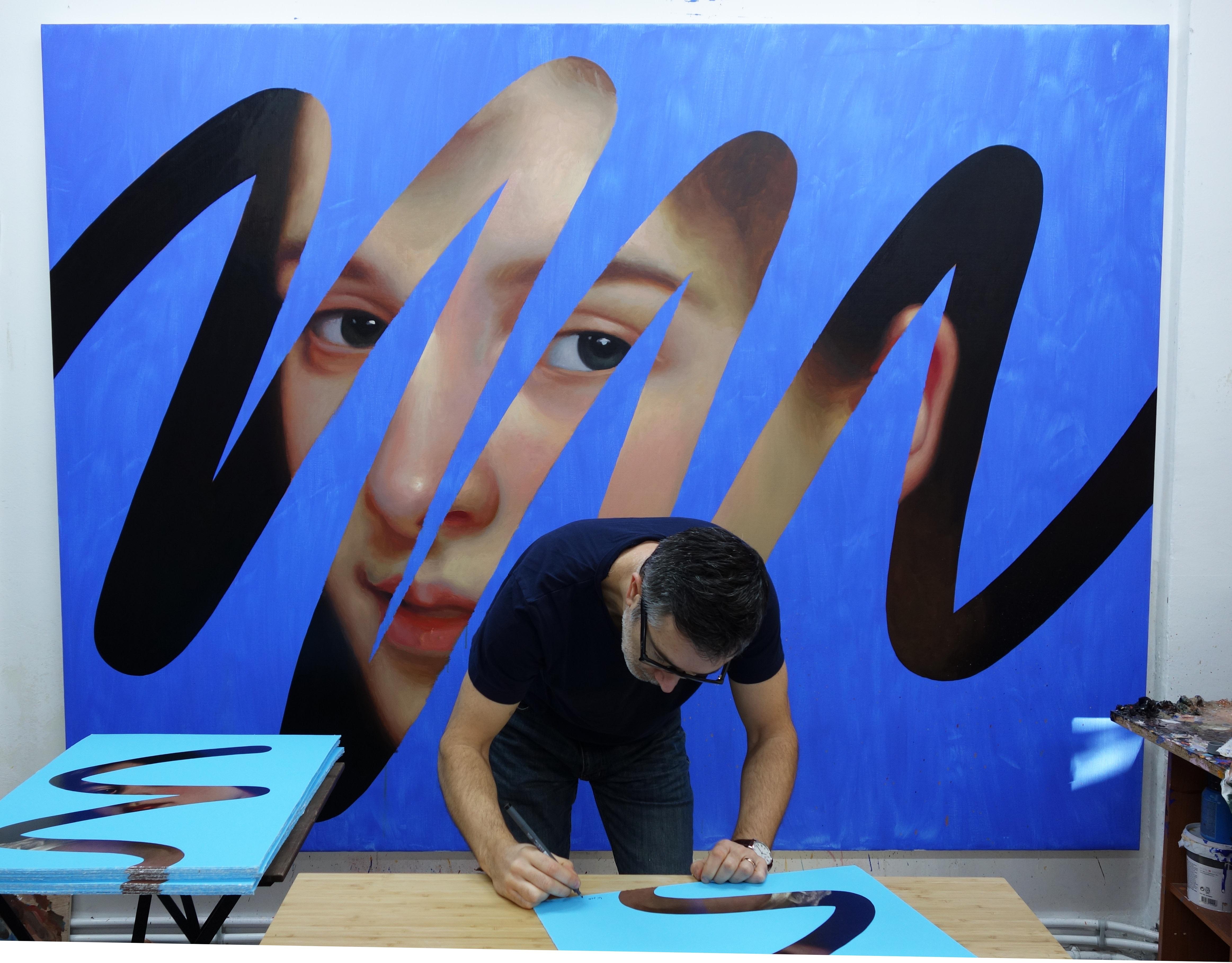 Lino Lago signing work