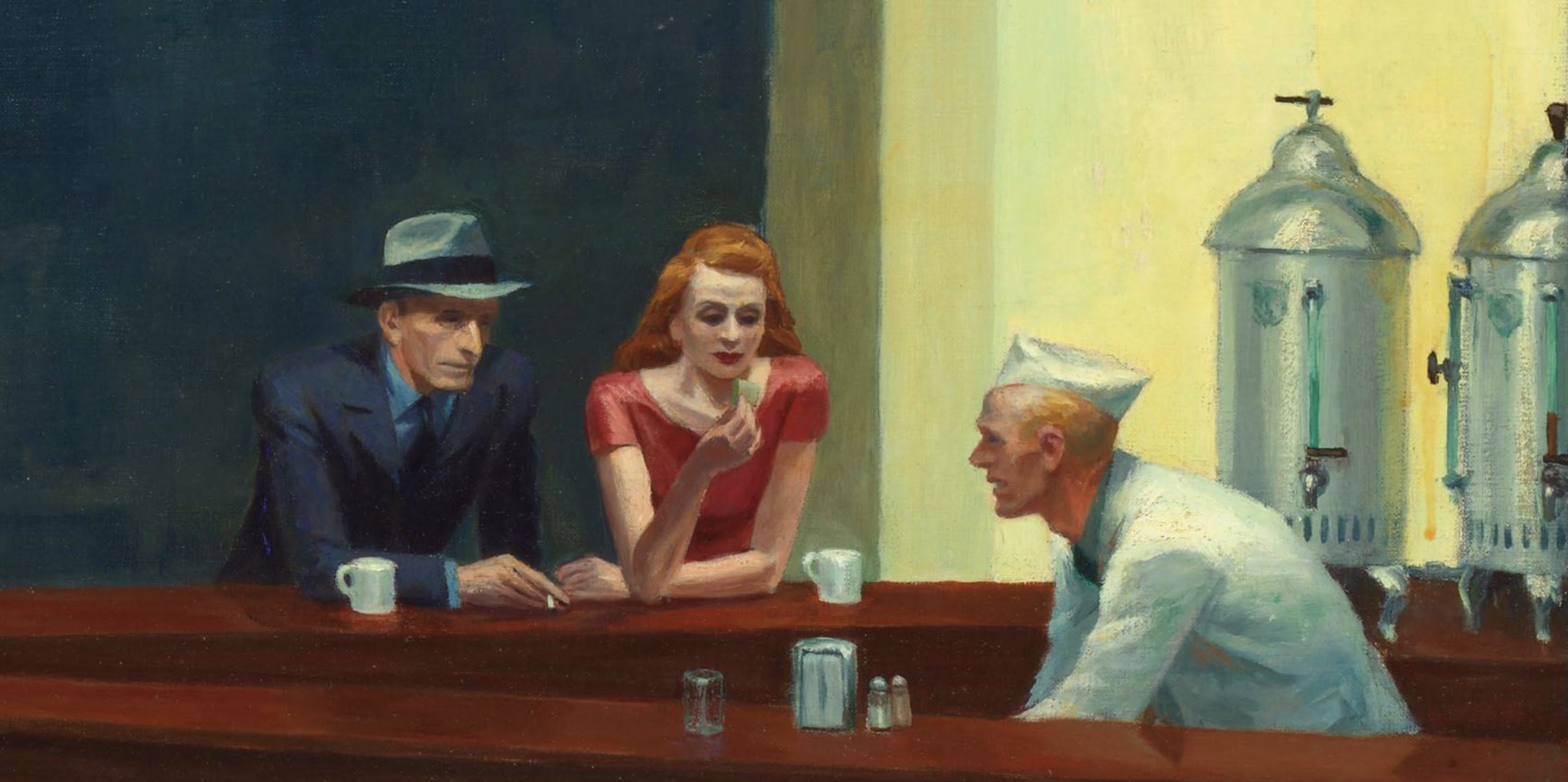 Detail of 'Nighthawks'