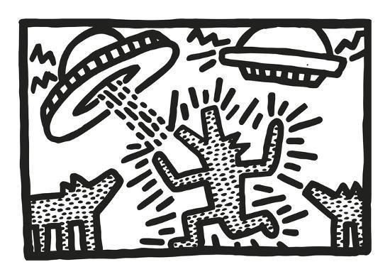 Untitled by Keith Haring , 1982
