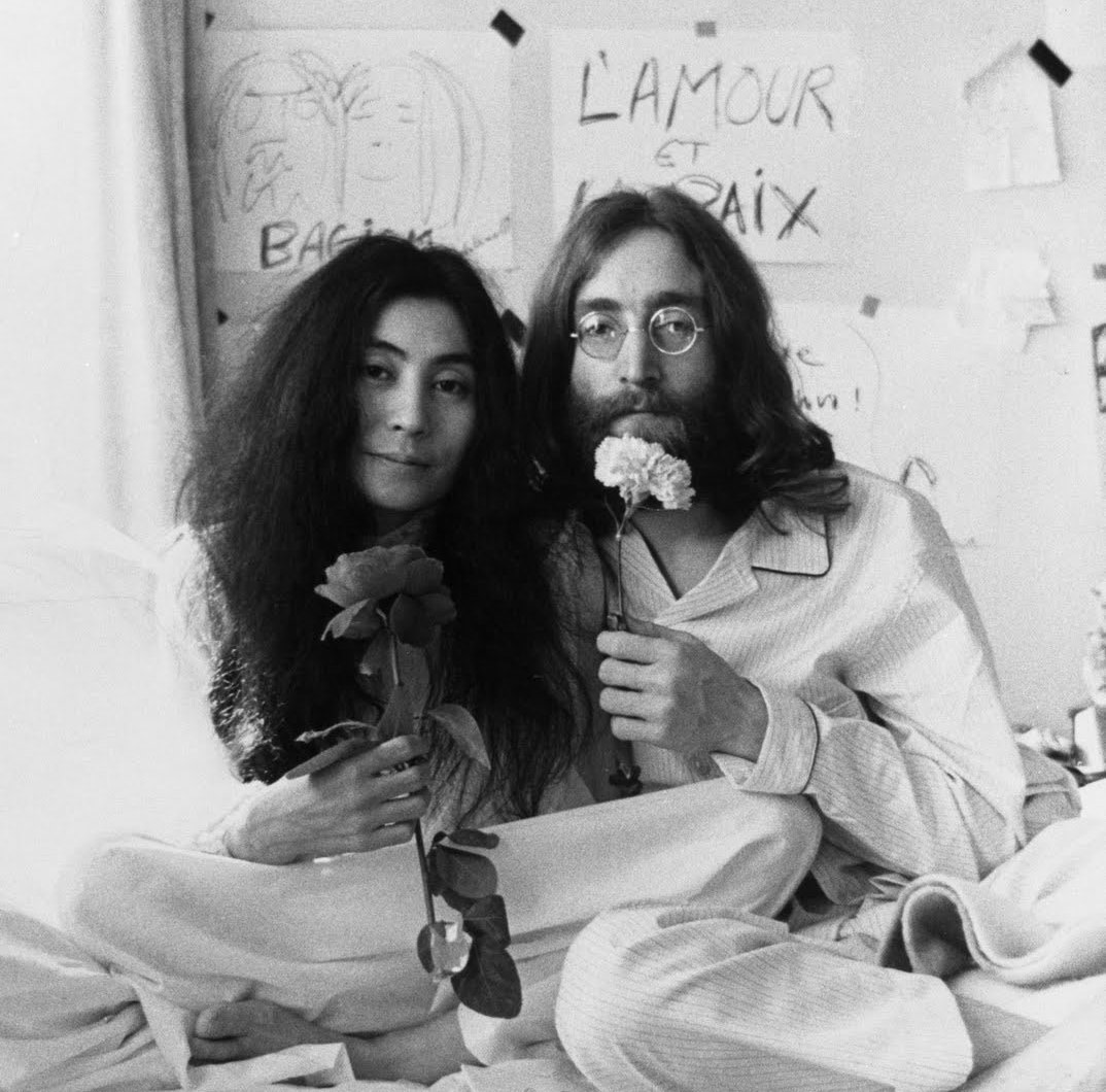 Image result for john lennon and yoko ono art